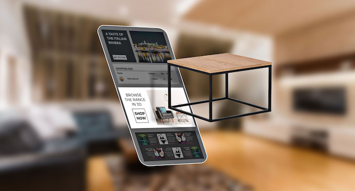 Web Augmented Reality rich media adverts product visualisation | Blippar